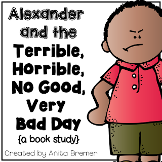 Book study companion activities to go with the book Alexander and the Terrible, Horrible, No Good, Very Bad Day. Perfect for whole class guided reading, small groups, or individual study packs. Packed with lots of fun literacy ideas and guided reading activities. Common Core aligned. K-2 #bookstudies #bookstudy #picturebookactivities #1stgrade #2ndgrade #literacy #guidedreading