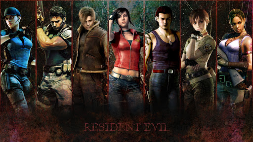 resident evil 1 2 3 4 5