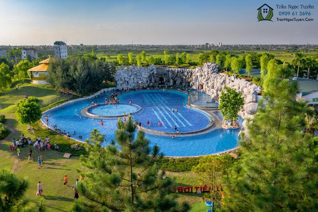 Bể bơi khu sinh thái Đan Phượng