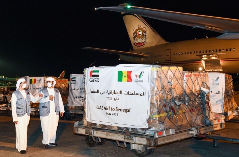 السنغال تستقبل طائرة الإمارات.. على متنها 50 طناً من المواد الغذائية
