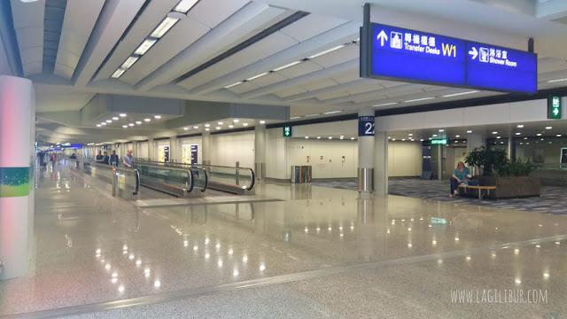 Petunjuk Lokasi Shower Room Bandara Hongkong