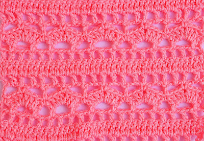 7 - Crochet Imagenes Puntada combinada para blusas y canesú por Majovel Crochet