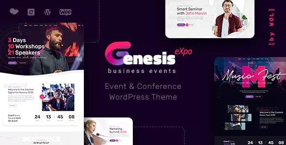 GenesisExpo v1.0.14 - Chủ đề hội nghị và sự kiện kinh doanh