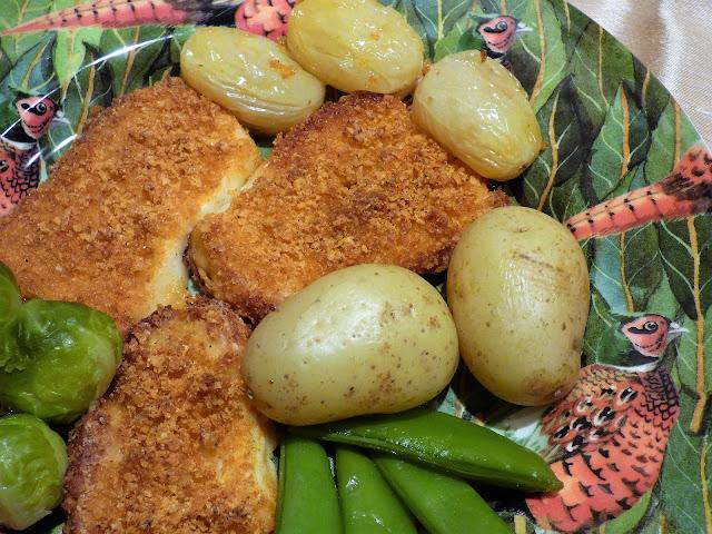 vegetarian recipe, baked cheese