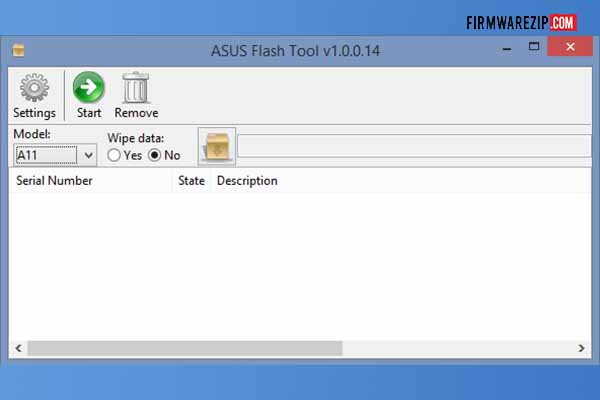 How to flash Asus firmware via Asus Flash Tool