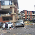 Cámara de seguridad captó explosión de gas en San Cristóbal (+Video)