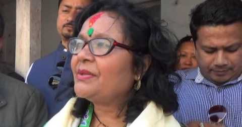 Shanta Chhetri gets Rajya Sabha election ticket