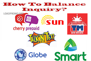 How To Balance Inquiry Smart or Globe