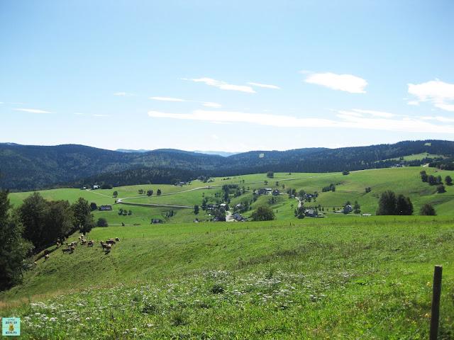 Monte Schauinsland en los alrededores de Freiburg