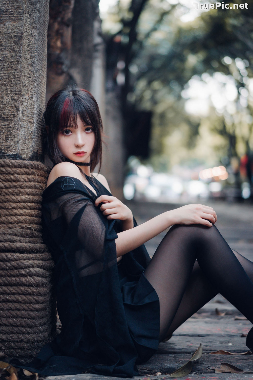 Image Chinese Cute Model - 疯猫ss (Fengmaoss) - Rebellious Young Girl - TruePic.net - Picture-9