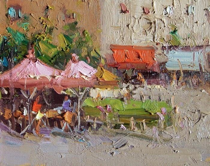 Иранский художник. Mostafa Keyhani
