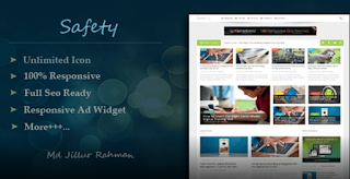 Responsive MultiPurpose Blogger Template Free Download