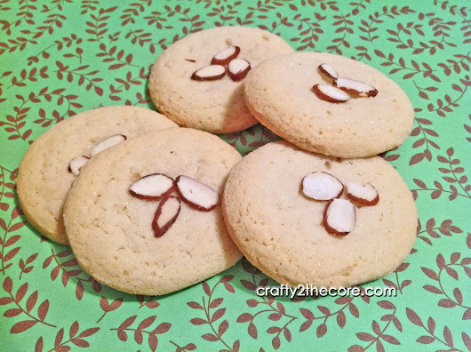 ~Chinese Almond Cookies~ - Crafty 2 the Core