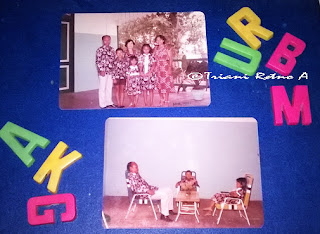 pakaian batik keluarga