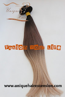 Russian virgin clip in hair extensions