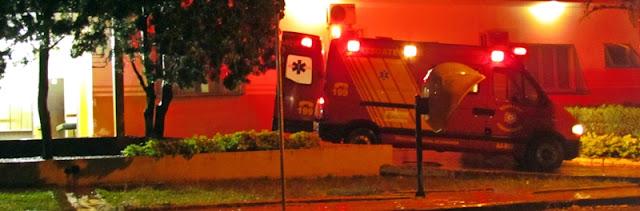 Roncador: Defesa Civil atende acidente envolvendo motocicleta no Jardim Anchieta