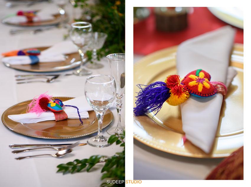 Outdoor Indian Wedding Table Decorations at German Park Kerala South Asian SudeepStudio.com Ann Arbor Indian Wedding Photographer