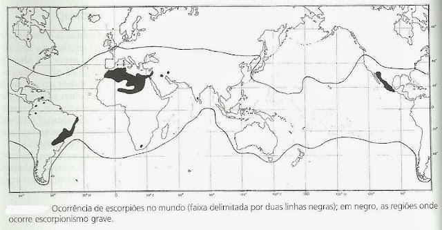 Distribuição-espécies-escorpiões