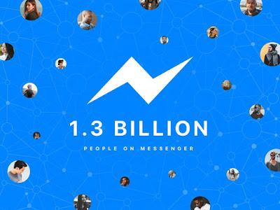 Facebook Messenger công bố có hơn 1,3 tỷ người dùng tích cực hàng tháng - 205252