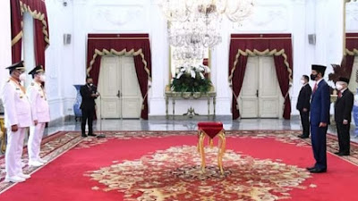Presiden Jokowi Lantik OD-SK Sebagai Gubernur dan Wagub Sulut 2021-2024