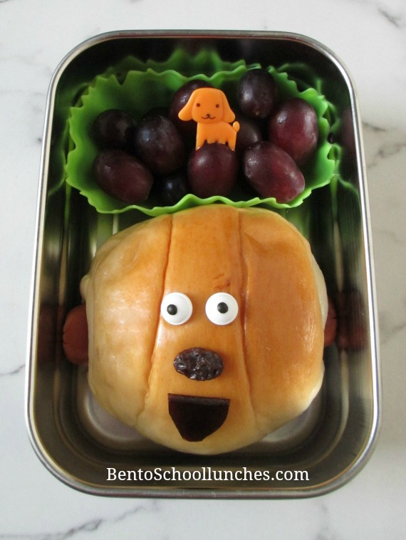 Hot Dog Bun Bento