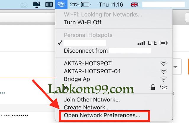 Mengatasi MacBook Yang Tidak Dapat Terhubung Ke WiFi