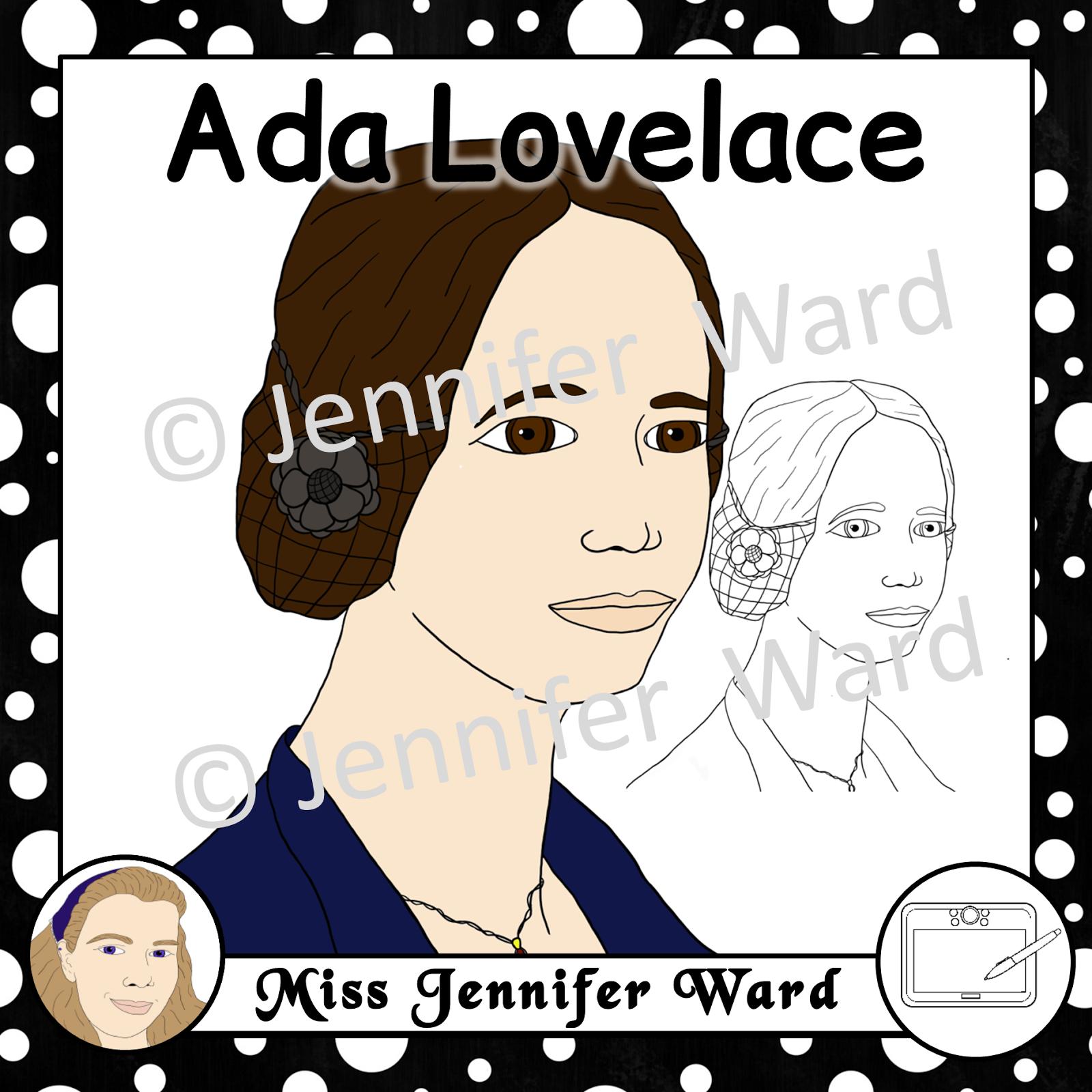 https://www.teacherspayteachers.com/Product/Ada-Lovelace-Clipart-2462078