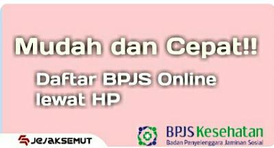 daftar bpjs online lewat hp