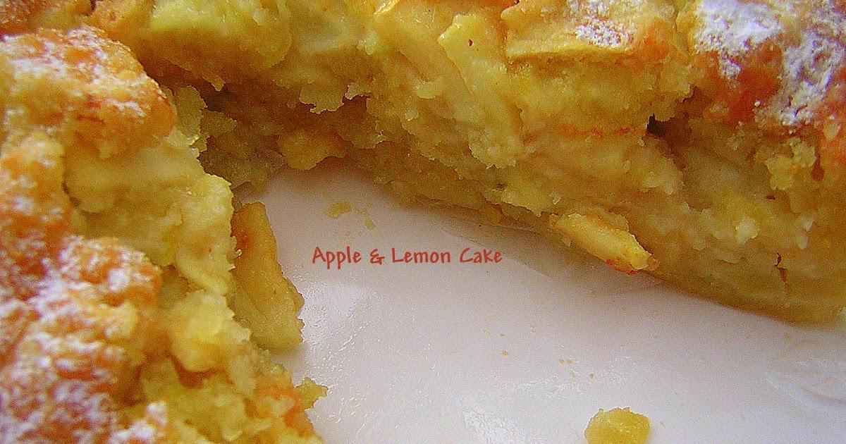 Apple Cake G Plain Flour