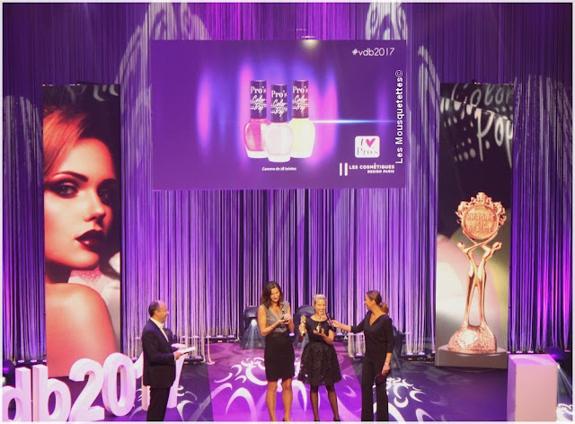 Les Victoires de la beauté 2016/2017 - Les Cosmétiques Design Paris - Blog beauté Les Mousquetettes©