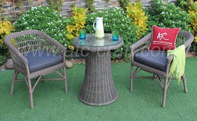 Outdoor Rattan Furniture Dining Coffee Set