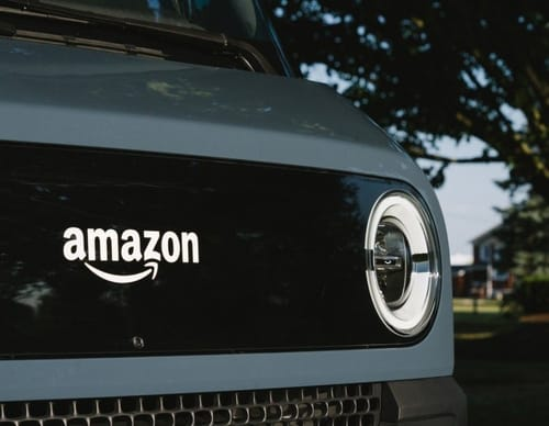 Amazon announced the introduction of advanced electric delivery trucks