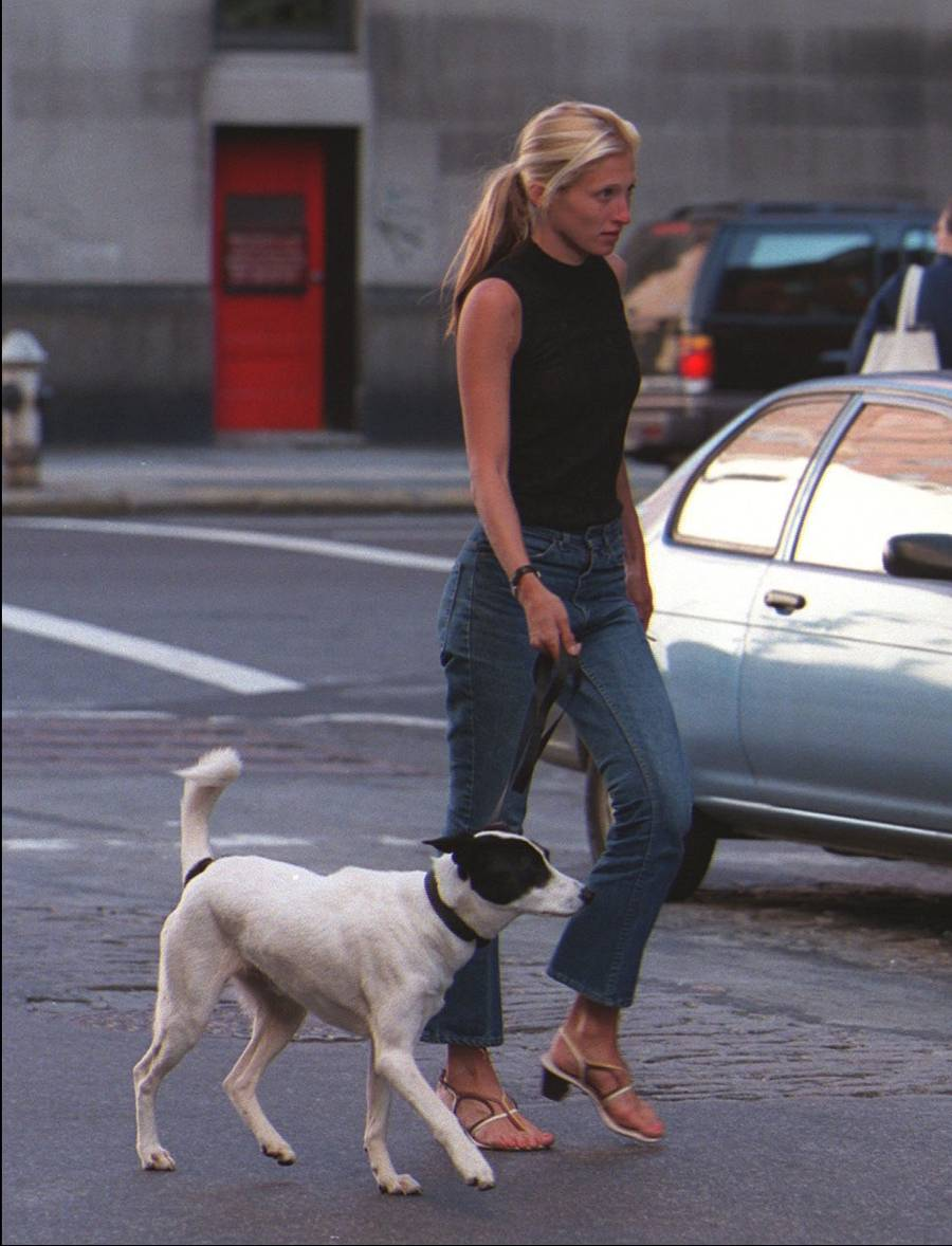 The black mock neck tank. | Carolyn Bessette Kennedy | fashion, style, icon, inspiration, 90s, vintage, minimalism, chic style, casual, sandals, summer, basics | Allegory of Vanity.jpg