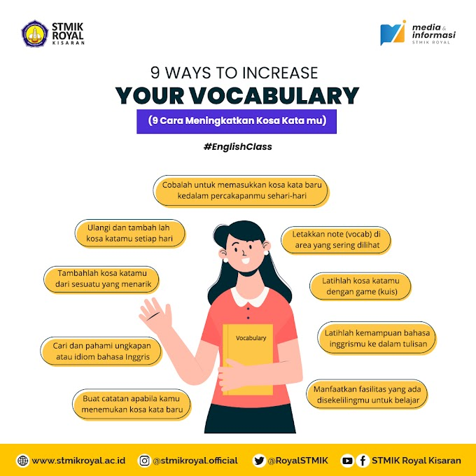 9 Ways to Increase Your Vocabulary