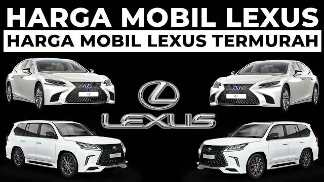 harga mobil lexus termurah