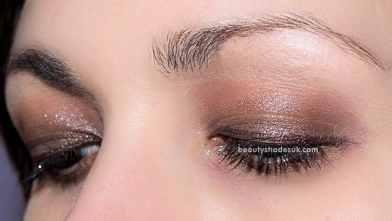 too faced chocolate bar makeup look
