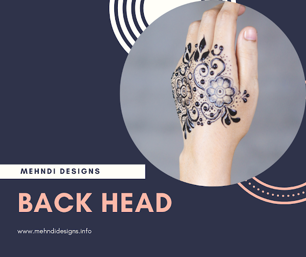 Mehndi designs of back hand - Mehndidesigns.info
