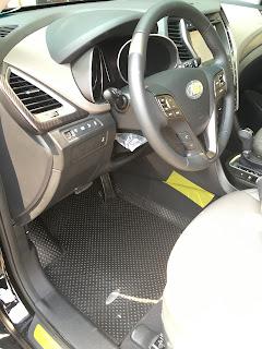 Thảm lót sàn ô tô Hyundai Santafe