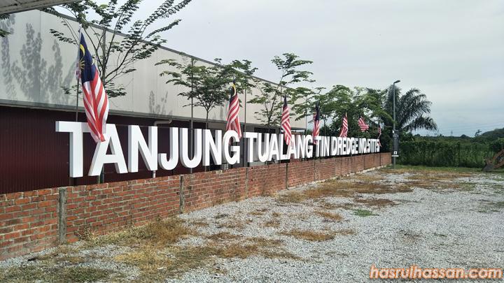 Singgah Santai Kapal Korek No 5 Tg Tualang