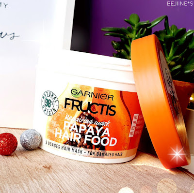 Masque Fructis Hair Food de Garnier - Papaye