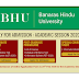 BHU Admission 2020 | Under Graduate Program 2020-21