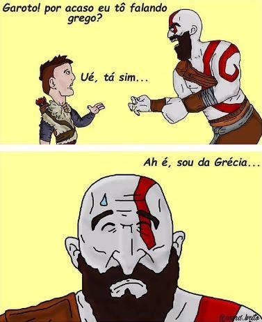kratos e grego
