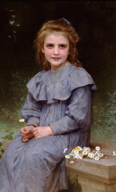 Адольф Вильям Бугро - Ромашки (1894)