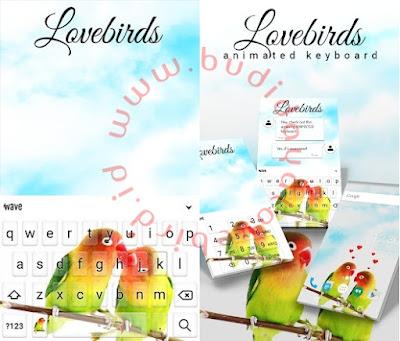 Tema Lovebird Untuk Android