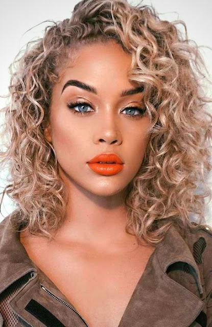 Curly Medium-length Hairstyle - Medium Length Hairstyle and Haircuts For Women