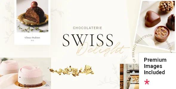 Best Chocolate & Cake Shop Theme