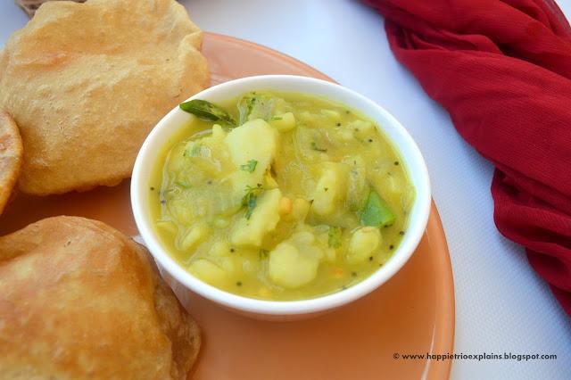 Poori Masala | Potato Poori Masala | Aloo Masala