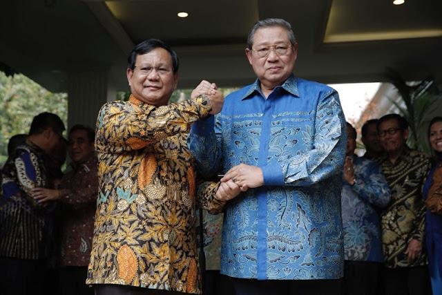 PD: Rematch Jokowi Vs Prabowo Jadi Menarik karena SBY Turun Full