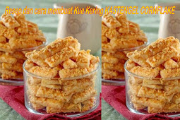 Resep dan cara membuat Kue Kering KASTENGEL CORNFLAKE