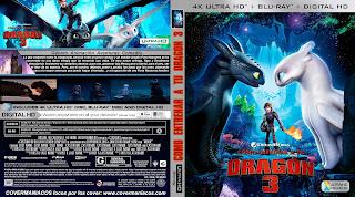 COMO ENTRENAR A TU DRAGON 3 [COVER – 4KUHD]